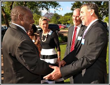 Breakfast with Deputy President Cyril Ramaphosa