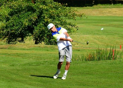 Mick McCormick Leonay GC) in action at the 35th Annual Blue Mts Week of Golf Blue Mountains Gazette 7th March, 2018