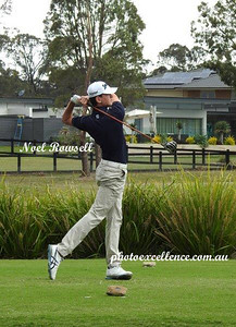 Penrith's Joshua Gadd in action at the 2017 NSW Golf Open at Twin Creeks BACK PAGE FEATURE - Penrith City Gazette 23rd November, 2017