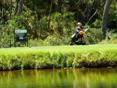 Peter Walker (Kiama GC) in action at Blackheath GC during the 2018 Blue Mountains VGA Week of Golf Australian Senior Golfer 14th February, 2019