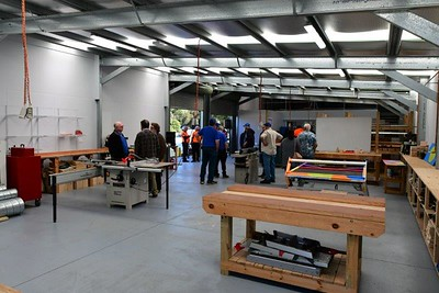 The official opening  ceremony of the St Clair Men's Shed Nepean News 6th August, 2021