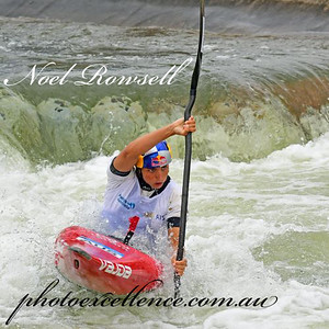 Jessica Fox won Gold in both K1 and C1 Women's events at the 2020 Penrith International Whitewater Festival Nepean News 5th March, 2020