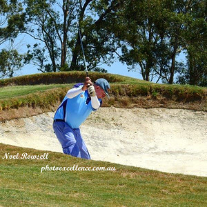 Ron Thomas (Leonay GC) in action during the opening round of the 2018 WSRVGA Inter-Club Championships Australian Senior Golfer 19th February, 2018