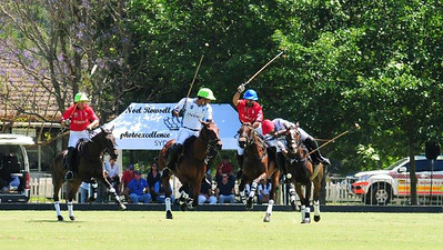 Action from the Chile vs India game at the 2017 Polo World Championships Nepean News 9th November, 2017