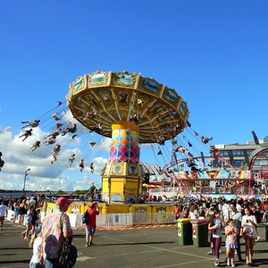 Sideshow Alley One of the 10 images from the 2021 Royal Easter Show Montage Nepean News 16th April, 2021