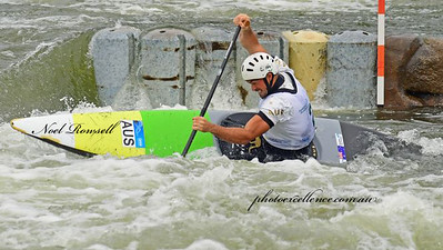 Daniel Watkins won Bronze in the C1 Men's event at the 2020 Penrith International Whitewater Festival Western News 6th March, 2020