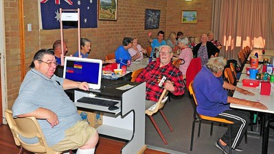 Playing Bingo at St Marys Senior Citizens Nepean News 24th October, 2019