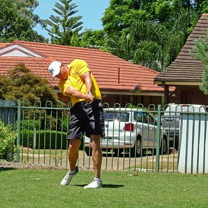 Leonay GC 2018 Club Champion David Moore in action Nepean News 14th February, 2019