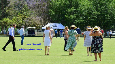 The crowd stomping the divots at the 2017 Polo World Championships Nepean News 9th November, 2017