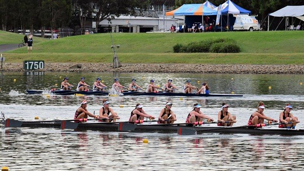 Action from the 2021 NSW Rowing Championships at the Penrith International Regatta Centre Nepean News 12th February, 2021