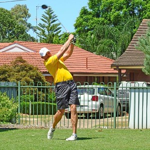 Dave Moore was the 2019 Club Champion at Leonay GC. Nepean News 14th May, 2020