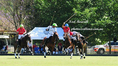 Action from the Chile vs India game at the 2017 Polo World Championships Western News 10th November, 2017