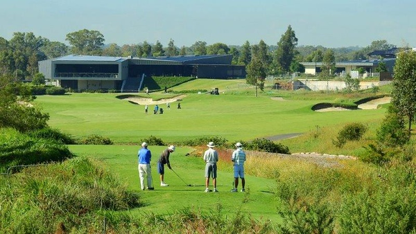 Entries are now being called for the 2020 NSWVGA Stroke-Play Championships. Photo from the 18th at Stonecutters Ridge GC.  Australian Senior Golfer 1st February, 2020