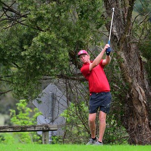 Matt Whitmore (Windsor CC) in action at Leonay GC during the 2020 Major Pennant competition. Hawkesbury Courier Feb 20, 2020