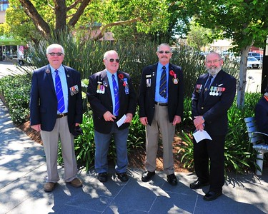 Members of Penrith RSL Sub-branch at the 2020 Remembrance Day Ceremony Nepean News 16th April, 2021