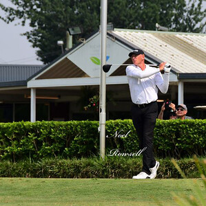 Peter Fowler - Tied for 2nd in the 2019 Australian PGA Seniors Championships at Richmond GC Nepean News 7th November, 2019