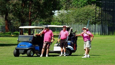 Action from the Breast Cancer Institute Charity Golf Day at Leonay GC Nepean News 8th November, 2018