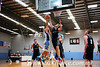 Jarrod Sorenson blocks a Bankstown opponent in the paint<br /> St Marys Star (on-line edition)<br /> 28th April, 2014