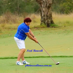 Elaine Williams (Dunheved GC) in action during the opening round of the 2018 WSRVGA Inter-Club Championships Australian Senior Golfer 19th February, 2018