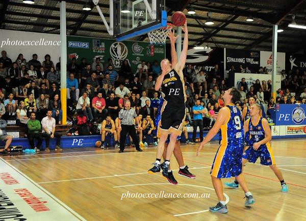 Sydney City Cobras Kyle Painter was outstanding in the grand final of the 2014-15 GMP Ultimate Basketball League (UBL) competition<br /> Parramatta Sun (on-line edition)<br /> 19th March, 2015