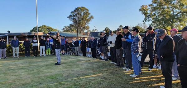 Pre-Game address at the 2019 WSRVGA Inter-Club at Richmond GC in July. Australian Senior Golfer 26th July, 2019