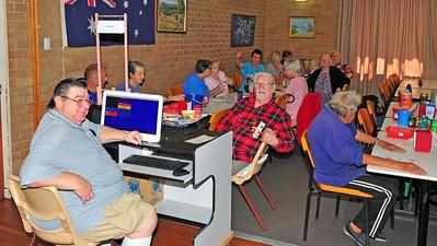 Playing Bingo at St Marys Senior Citizens Nepean News 6th February, 2020