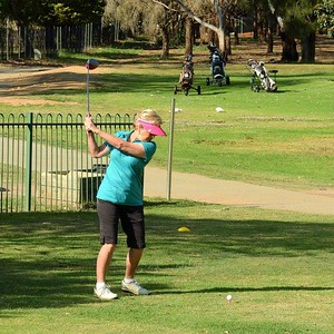 Janina Lightfoot (Glenmore HV GC)  in action at Leonay GC in the final round of the 2019 WSRVGA Inter-Club Competition Nepean News 7th November, 2019