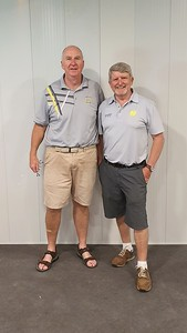 Gary Murphy & Brendan McKeown - Leonay GC Division Two Foursomes Stroke-Play and Match-Play Champions, 2019 Jordan Springs Gazette October edition, 2019