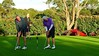 David Bailey and John Ross from Glenmore Heritage Valley GC on the practice green, prior to tee-off in the WSRVGA Inter-Club event at Springwood Country Club<br /> Australian Senior Golfer<br /> 24th April, 2018