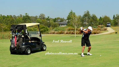 Renato Grimaldi (Wallacia GC) in action during the opening round of the 2018 WSRVGA Inter-Club Championships Australian Senior Golfer 19th February, 2018