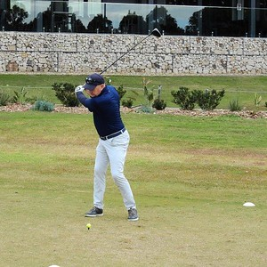 Dennis Day (Penrith GC) in action during the 2021 Golf NSW Master Pennant competition Nepean News 25th June, 2021