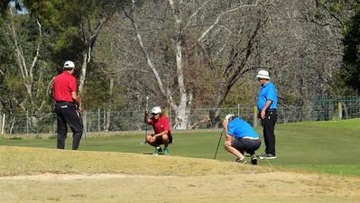 Ian McLean, Val Centeno (Twin Creeks CC), Garry Smith, Roy Benson (Richmond GC) - Round One of 2019 NSW Super Seniors Pennants Australian Senior Golfer 13th August, 2019