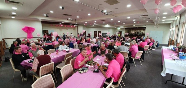 Pink Day for Breast Cancer Research at Leonay GC Australian Senior Golfer 23rd September, 2019