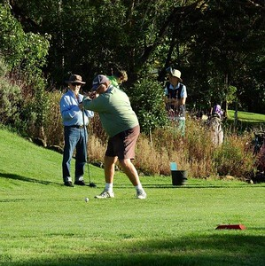 Action on the 1st tee at Wentworth Falls CC during the 38th Annual Blue Mountains Veterans Week of Golf Australian Senior Golfer 1st March, 2021