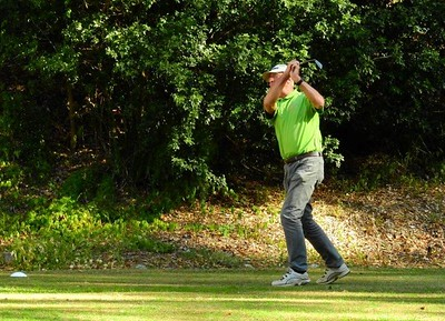 Rod Tuckwell (Richmond GC) in action during the WSRVGA Inter-Club event at Leonay GC on 24th July, 2018 Hawkesbury Gazette 1st August, 2018