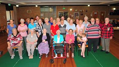 Group photo at St Marys Senior Citizens Nepean News 7th November, 2019