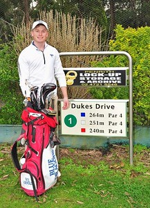 Wil Arnold (Penrith GC) won the 2018 Leonay Open Nepean News 1st March, 2018