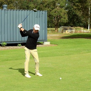 Ian Ashcroft (Twin Creeks CGC) in action at Dunheved GC during the 2021 Golf NSW Master Pennant competition Nepean News - Digital Edition 18th June, 2021