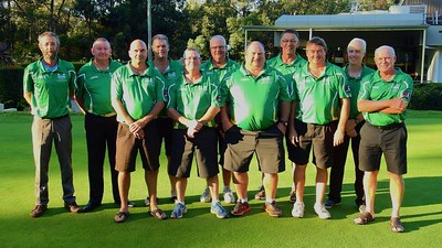 The Leonay GC squad competing in the 2018 Master Pennants competition Nepean News 24th May, 2018