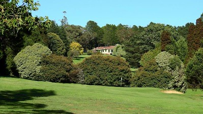 View from the course of Blackheath GC Clubhouse Australian Senior Golfer 2nd March, 2020
