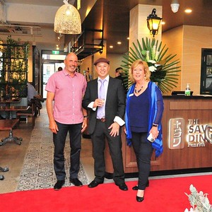 Opening night at The Savoury Dining, High Street, Penrith Nepean News 5th March, 2021