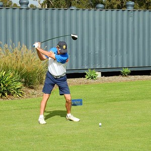 Russell Kellam (Dunheved GC) in action at Dunheved GC during the 2021 Golf NSW Master Pennant competition Nepean News - Digital Edition 18th June, 2021