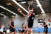 Greg Barnes scores in the paint against the Panthers<br /> Canterbury Bankstown Express<br /> 24th February, 2015