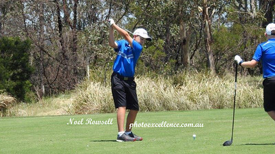 Coby Carruthers tees off in the 2017 NSW Golf Open Junior Pro-Am Nepean News 23rd November, 2017