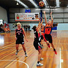 Lily Newbould in action for the Hawkesbury Jets in the 2016 Waratah State League Women's competition<br /> Hawkesbury District Independent Magazine<br /> June edition, 2016