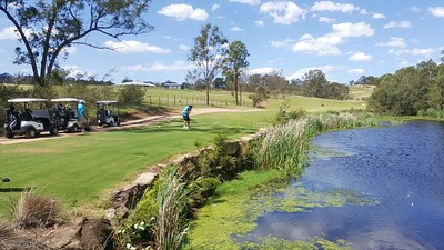 The stunning 5th hole at Wallacia Golf Club Australian Senior Golfer Magazine (on-line edition) 6th November, 2017
