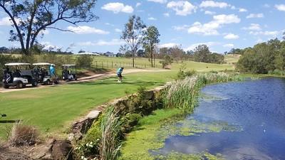 The stunning 5th hole at Wallacia Golf Club Australian Senior Golfer Magazine (on-line edition) 6th November, 2017