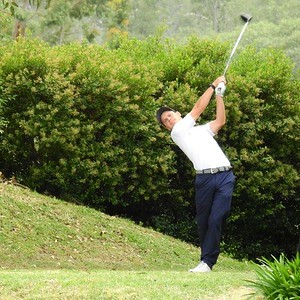 Action from the 2020 Eric Apperly Shield Pennant Semi-Final between New South Wales GC and St Michaels GC, which was played at Glenmore HVGC. Nepean News, 23rd July, 2021