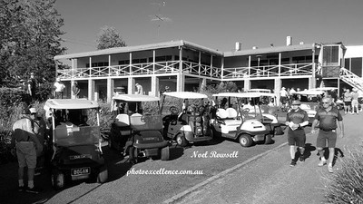 Ready to tee off in the 2017 Western Sydney Region Veterans Golf Association Inter-Club event at Wallacia GC Mulgoa Gazette December edition, 2017