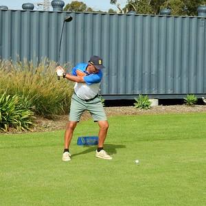 Paul Kallas (Dunheved GC) in action during the 2021 Golf NSW Master Pennant competition Western News 25th June, 2021